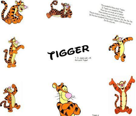 tigger wallpaper winnie the pooh tigger wallpaper