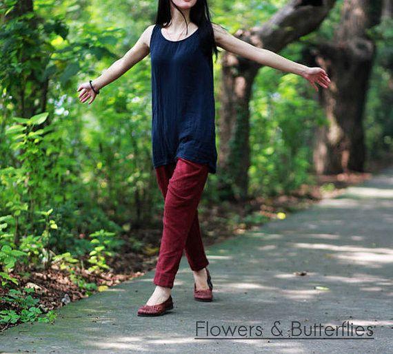 WORLDWIDE FREE SHIPPING Women Linen Dress 5 Colors One Size Plus Size Summer Dress Natural Dress Boho Dress Woman Summer Dress Lagenlook Dress Flower Dress Bio Cotton Dress