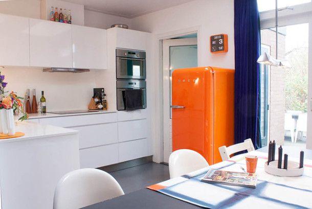 #excll #дизайнинтерьера #решения Ретро - техника в интерьере кухни