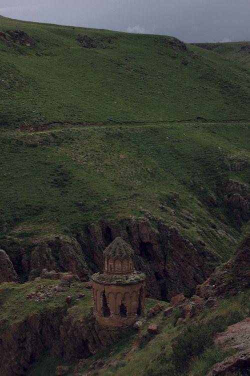 Khtzkonk Monastery, a secluded former Armenian church in Turkey by travel-almond