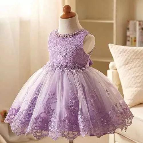 vestidos de fiesta y bautismo- para nenas - ropa importada