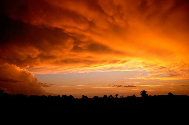 Avond zon
