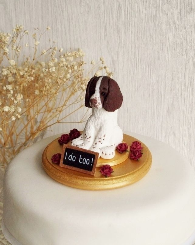 wedding cake topper with dog best 25 cake topper ideas on fondant 8811