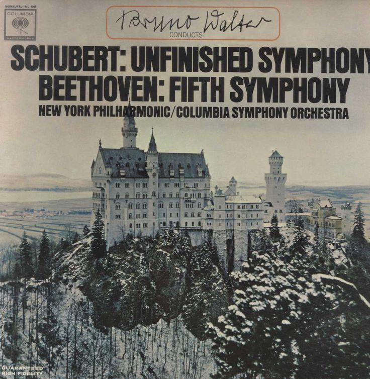 Bruno Walter - Schubert: Unfinished Symphony / Beethoven: Fifth Symphony