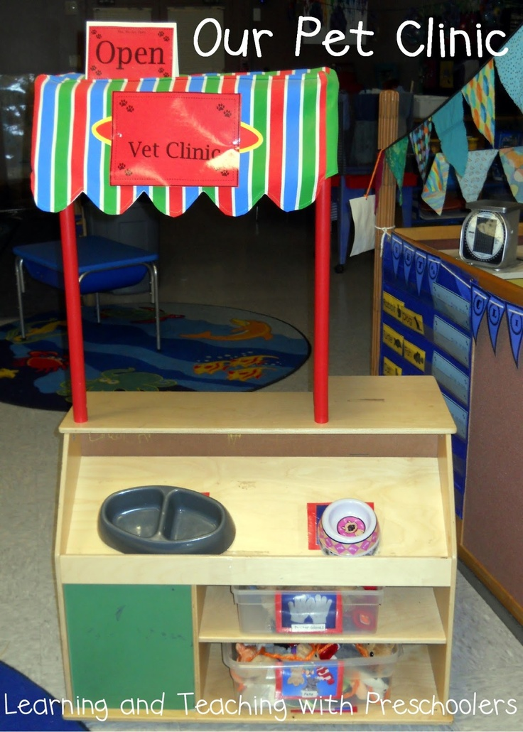 Learning and Teaching With Preschoolers: Pet Clinic Dramatic Play