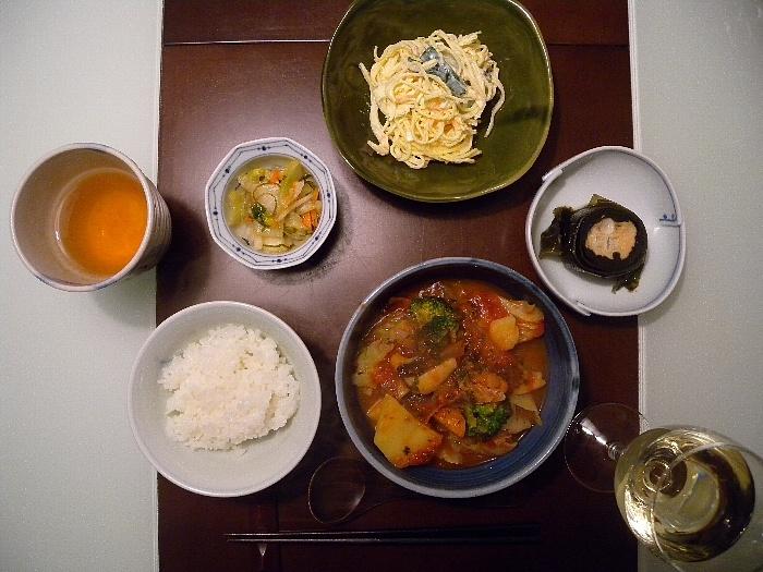 2012/Feb/01 Supper2012 Feb 01 Suppers, 2012Feb01 Suppers, Dishes 12 Feb