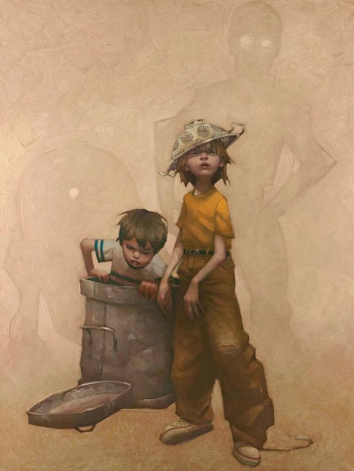 English artist Craig Davison creates series of