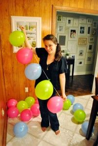 Balloon garlands- so easy it's crazy