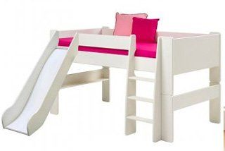 Steens For Kids Mid-Sleeper with Slide