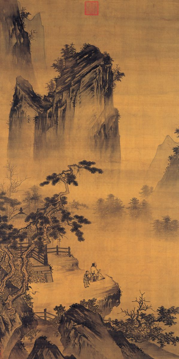 Ma yuan 1225 was a chinese for Chinese mural art