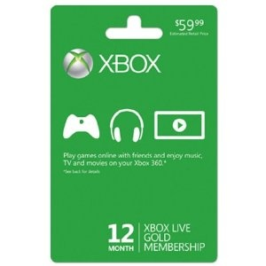 Xbox LIVE 12 Month Gold Membership [Online Game Code] --- http://www.amazon.com/Xbox-LIVE-Month-Membership-Online/dp/B002VBWIP6/?tag=mydietpost-20