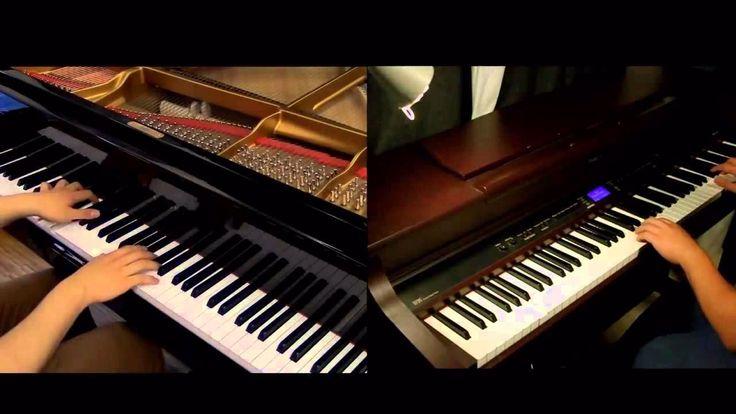 Jiyuu no tsubasa shingeki no kyojin op2 piano duet