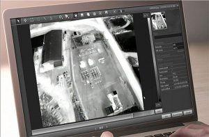 FLIR-Vue-Pro-R-w oprogramowaniu analiza termogramu