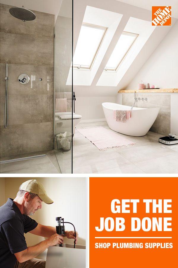 Get The Job Done Bathroom Redesign Plumbing Egyptian Home Decor