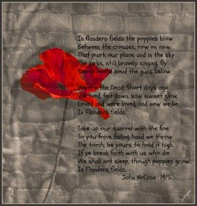Remembrance Day... honouring those who paid the price.