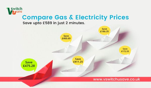 Compare gas and electricity prices and save up to £589 in just 2 minutes.