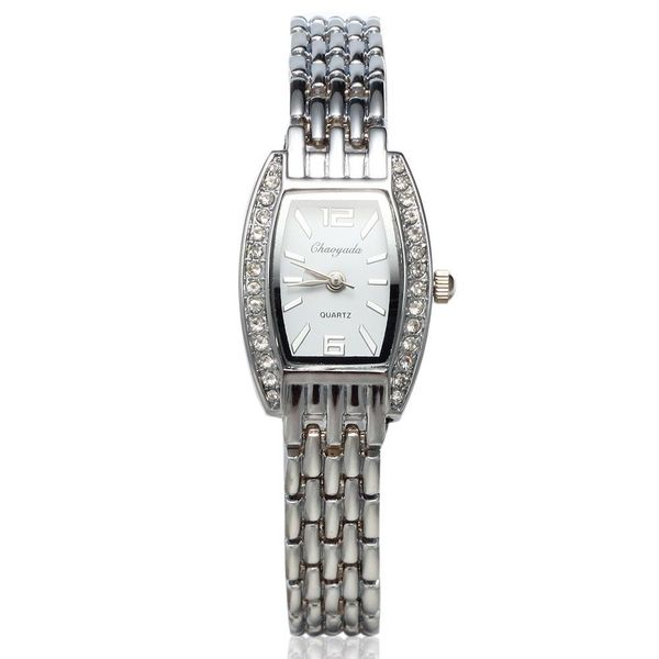 Luxury Dial Women's Diamond Bracelet Quartz Watch