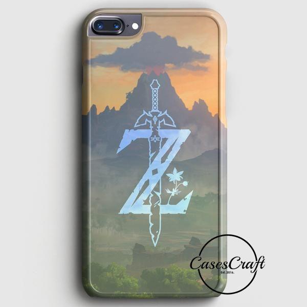 Zelda Logo Art iPhone 7 Plus Case   casescraft