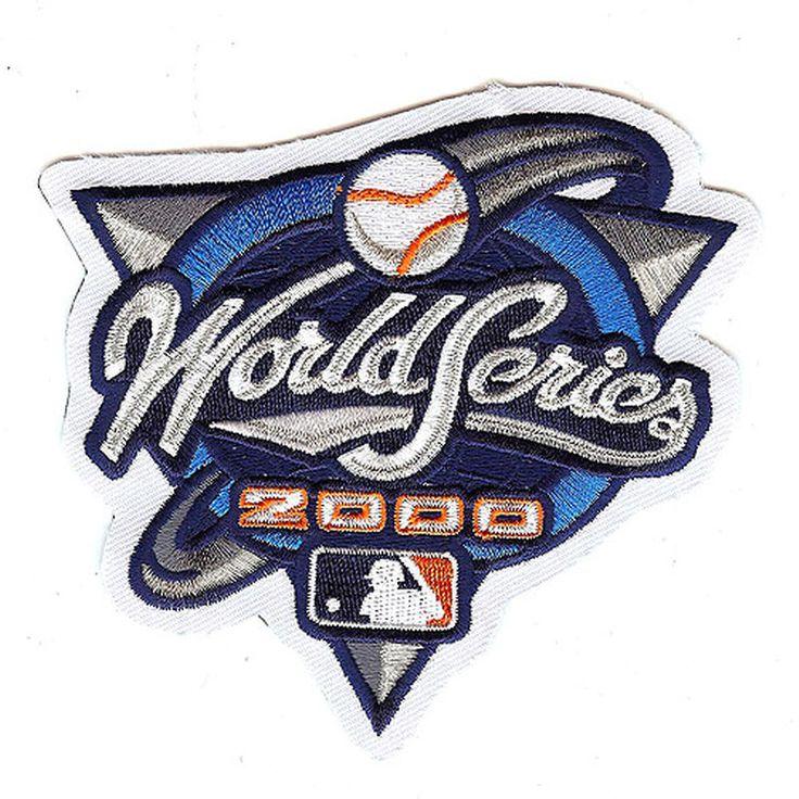 "MLB 4.5"" x 3.5"" 2000 World Series Patch"