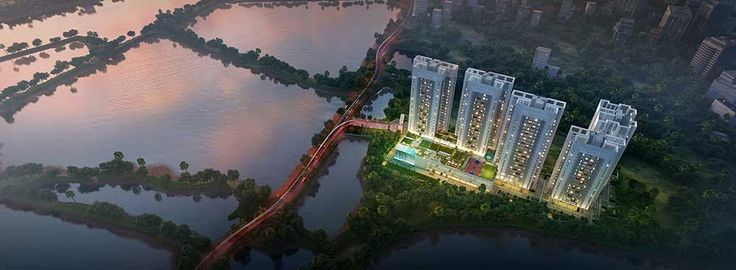 Merlin 5th Avenue, first fashion homes in Kolkata. Live neaby 1000 acres natural lake. Call 9830272666 for booking  Sidus Realty
