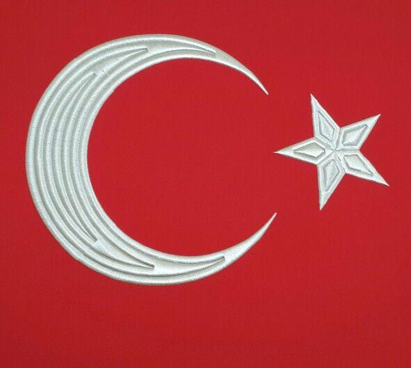 Türk  bayrağı yıldız kıral