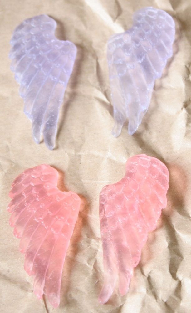 Aromatherapy Soap- Angel Wings-Carrot Seed-Ginger-Geranium Oil-Mini 1 Wash Soaps