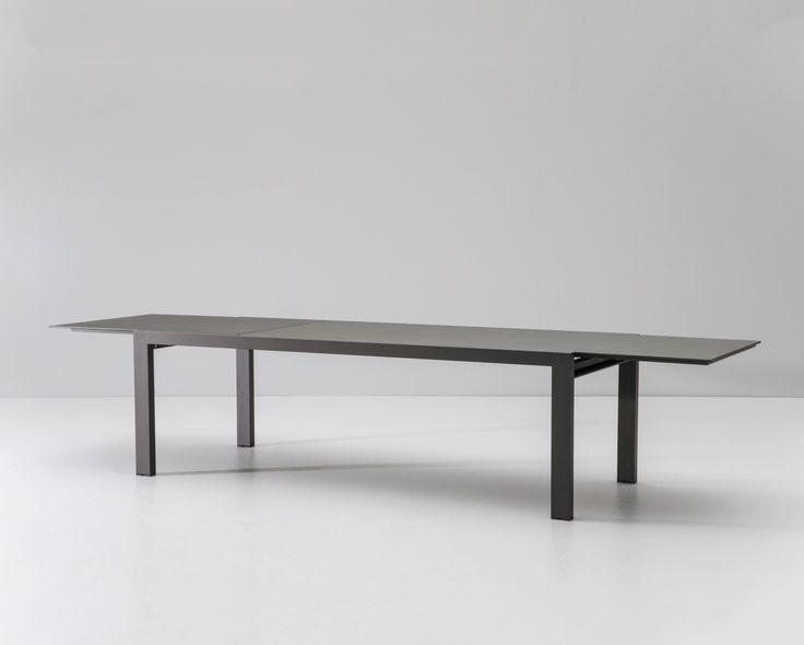 Kettal    Landscape   Dining table extendable 242/362x100