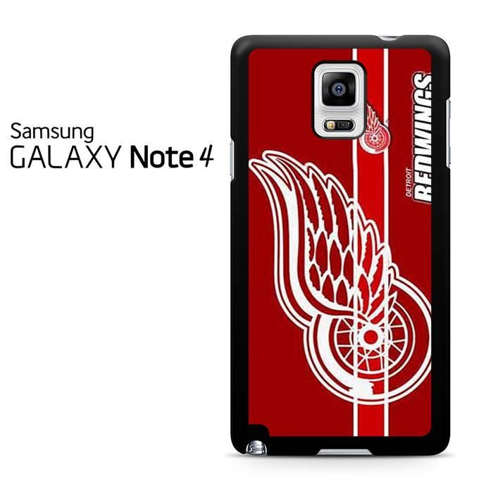 Detroit Red Wings Nhl Logo Samsung Galaxy Note 4 Case