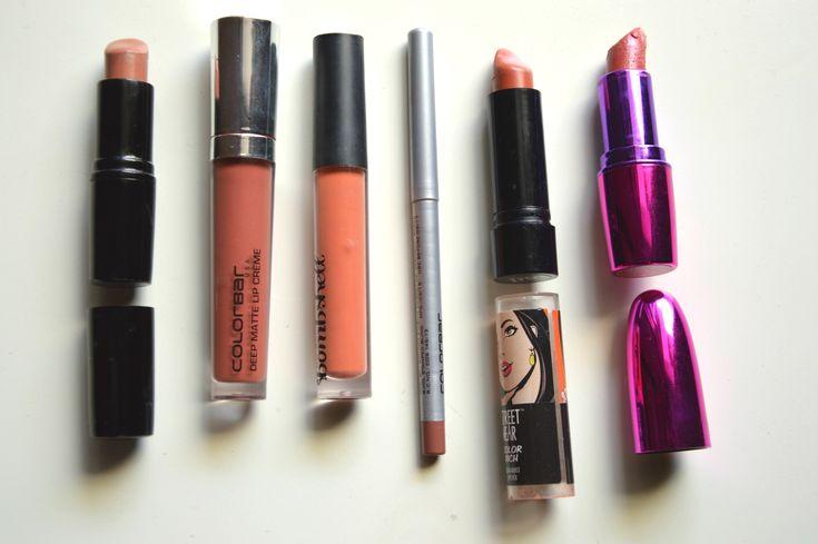 Top Nude Lipsticks for Indian Skintone | Aarushi Jain
