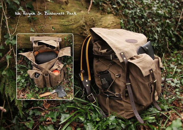 The Outdoor Lab: Traditional style backpacks: Frost River Isle Royale Bushcraft…