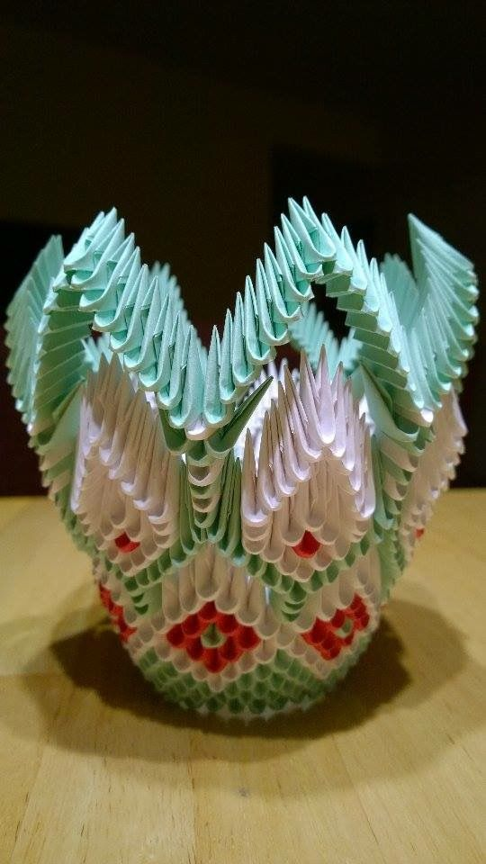 Favoloso 290 best ORIGAMI 3D images on Pinterest | Paper flowers, Origami  DZ77