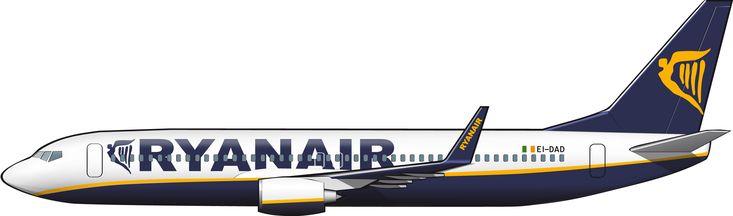 Boeing 737-800, de Ryanair 2015, España
