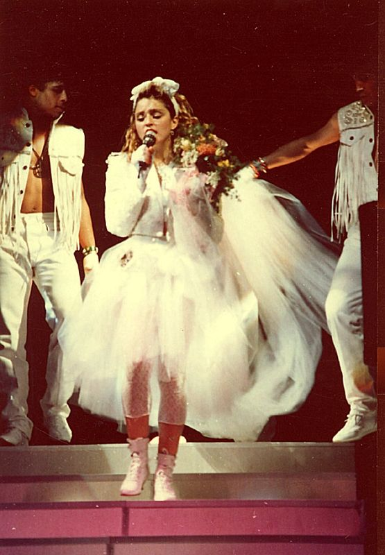 Madonna like a virgin costumes with you