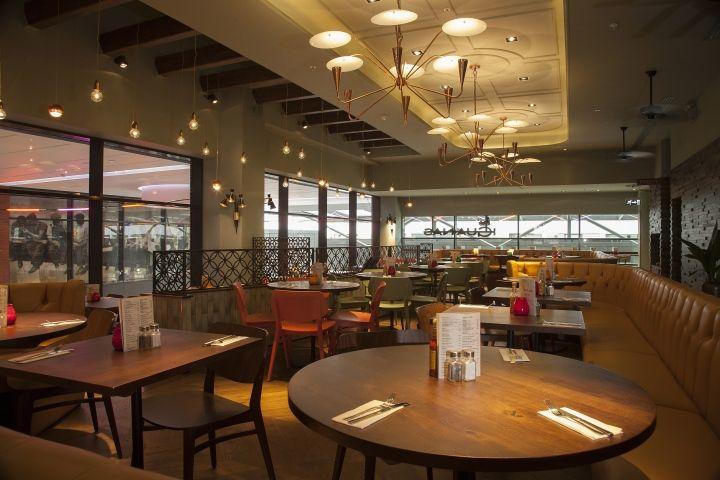 Las Iguanas restaurant by B3 Designers London Las Iguanas restaurant by B3 Designers, London