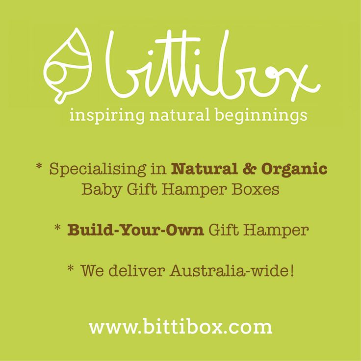 We specialise in Natural & Organic Baby Gift Hamper Boxes - with a personal touch!