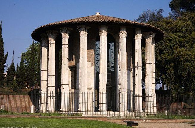 Hercules templet i Rom - stammer fra det senere 2. århundrede f. Kr.