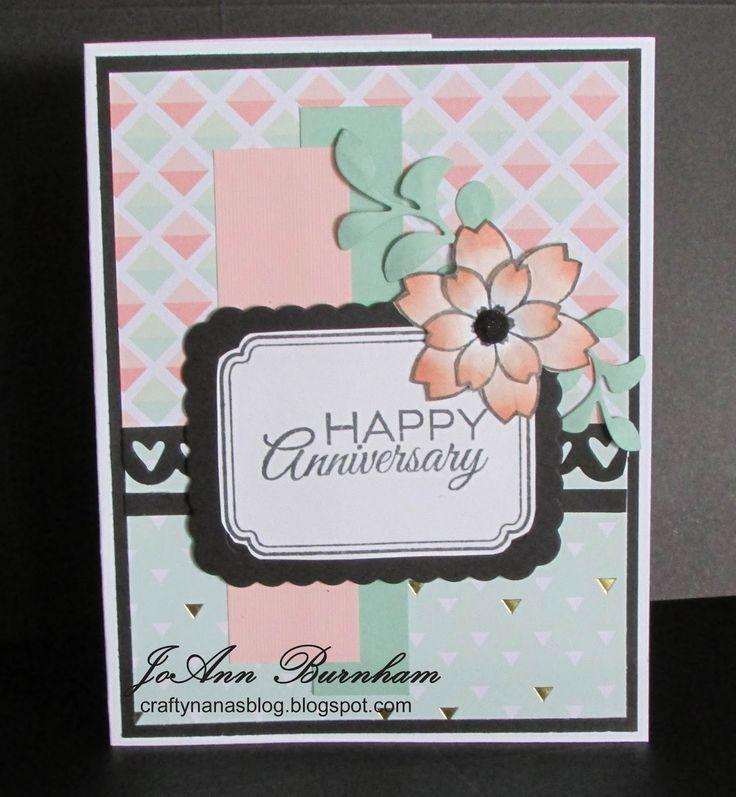 Handmade card by JoAnn Burnham using the
