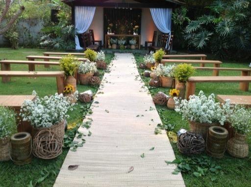 Casamento no campo. Por Bia Fajardo.
