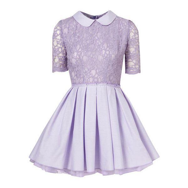 Light Purple Lace Dresses