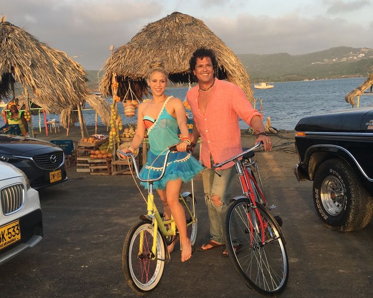 "Carlos Vives & Shakira's New Single ""La Bicicleta"" Out May 27 ""LA BICICLETA"" VIDEO FILMED THIS LAST WEEK BETWEEN THE CITIES OF SANTA MARTA AND ..."