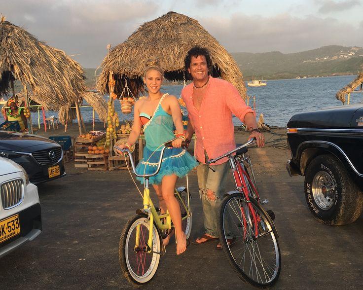 "Carlos Vives & Shakira's New Single ""La Bicicleta"" Out May 27 ""LA BICICLETA"" VIDEO FILMED THIS LAST WEEK BETWEEN THE CITIES OF SANTA MARTA AND ..."