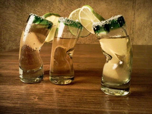 Twisted Tequila Shots