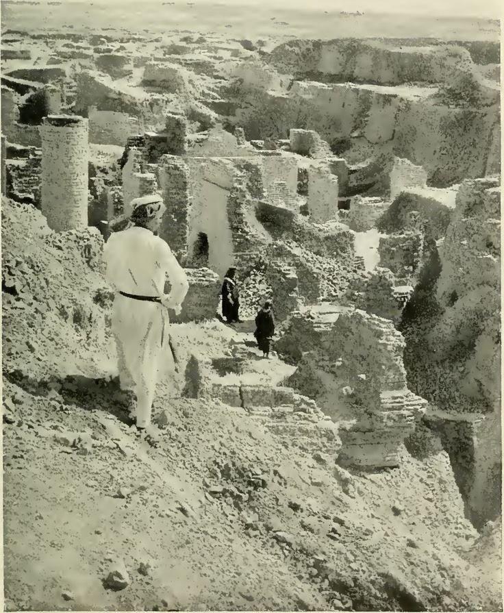 Ruins of Babylon in 1900