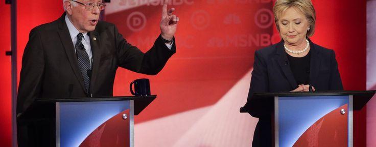 Live: Clinton and Sanders face off in Milwaukee debate #Politics #iNewsPhoto