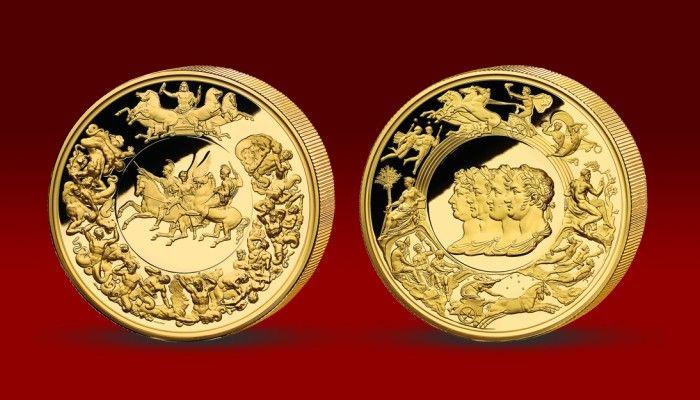 Pamětní medaile Waterloo