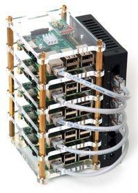 Raspberry Pi Dramble Cluster Hero - Sidebar