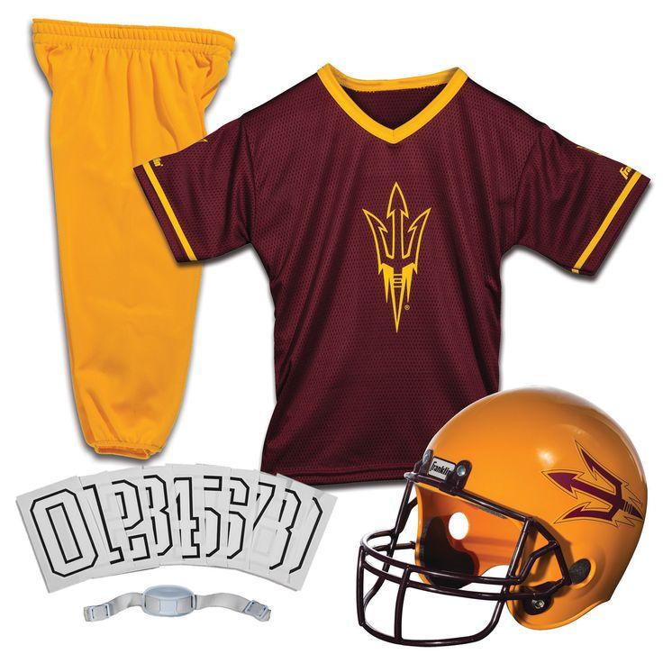 NCAA Franklin Sports Small Arizona State Sun Devils Deluxe Uniform Set, Kids Unisex