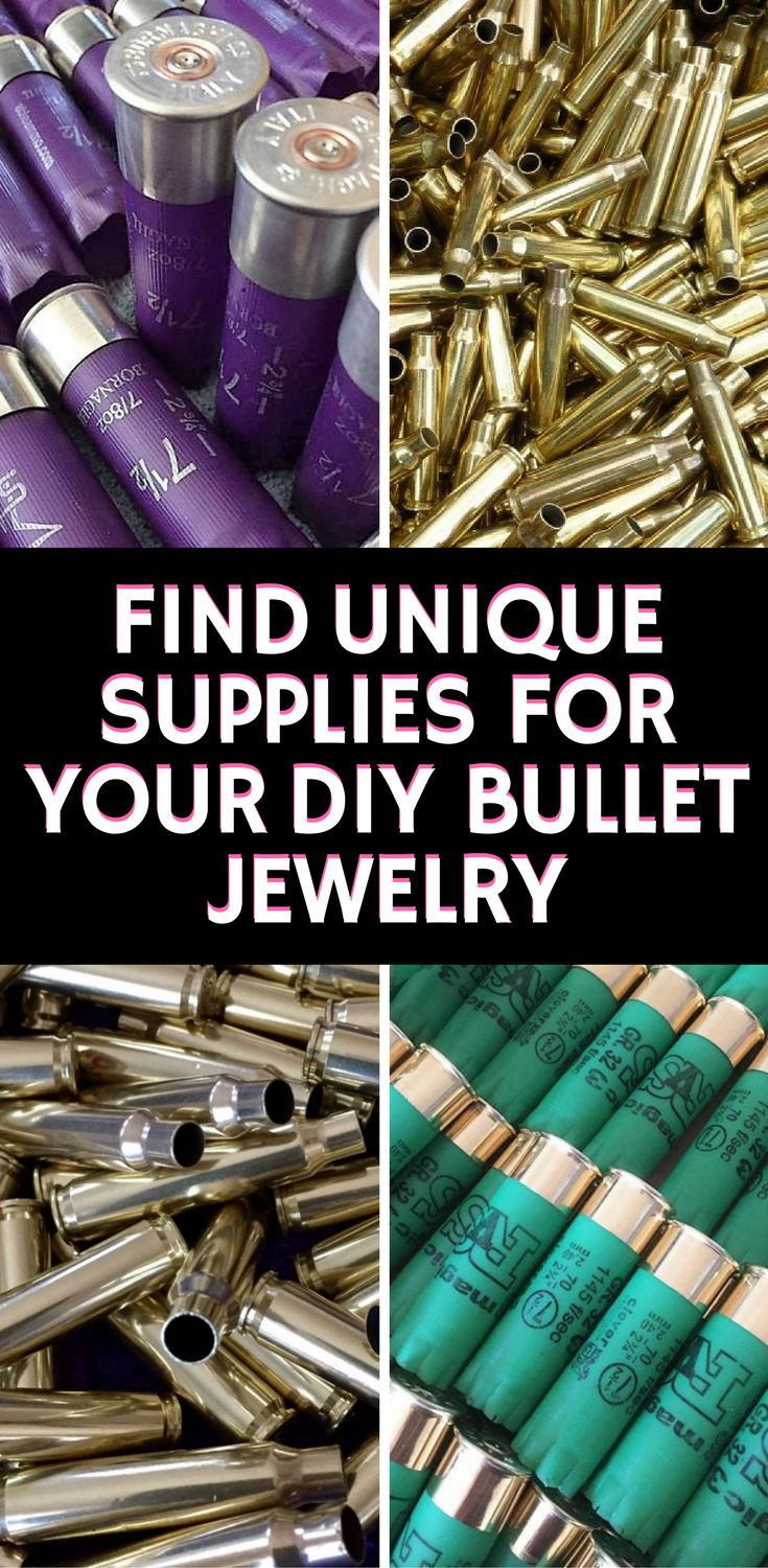 If you love bullet jewelry - then you'll love all these hand polished shell casings.  Bullet Shell Casings, Brass Bullet Shells 223, Empty Ammo Casings, #Empty #Brass Rounds, DIY Jewelry Craft Making, #Steampunk Designs, Ammo Art Jewelry Supplies by CraftSuppliesDepot on Etsy  #Bullet Jewelry, Bullet Necklace, Bullet Bracelet, #BulletRing, Bullet Shell Jewelry, Bullet Casing Jewelry, Bullet Jewelry Making Supplies