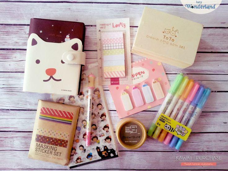 Lucy Wonderland: ♥ Korean Stationery
