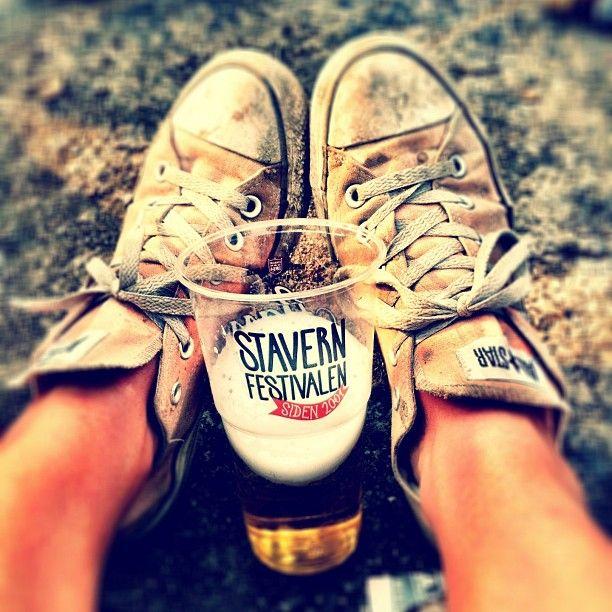 #stavernfestivalen #dirtyshoes #converse #festival #music #beer #happy #ilovenorway - @stinec- #webstagram